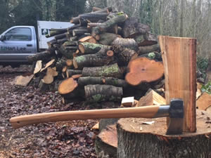 chipping logging and re-cycling